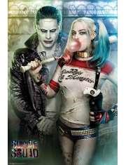Legion Samobójców Joker i Harley Quinn - plakat