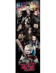 Legion Samobójców Bohaterowie - plakat