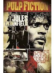 Pulp Fiction Jules Winnfield - plakat