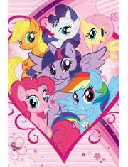 My Little Pony Bohaterowie - plakat