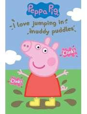Świnka Peppa Błotniste kałuże - plakat