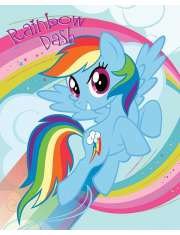 My Little Pony Rainbow Dash - plakat