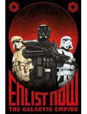Star Wars Łotr 1. Gwiezdne Wojny Zaciągnij się - plakat