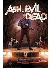 Ash kontra martwe zło - plakat