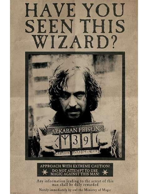 Harry Potter Sirius Black Czy widziałeś tego Czarodzieja? - plakat