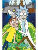 Rick and Morty Ufo - plakat