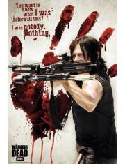 The Walking Dead Krwawa Ręka Daryla - plakat