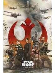 Star Wars Łotr 1. Gwiezdne Wojny Rebelianci - plakat