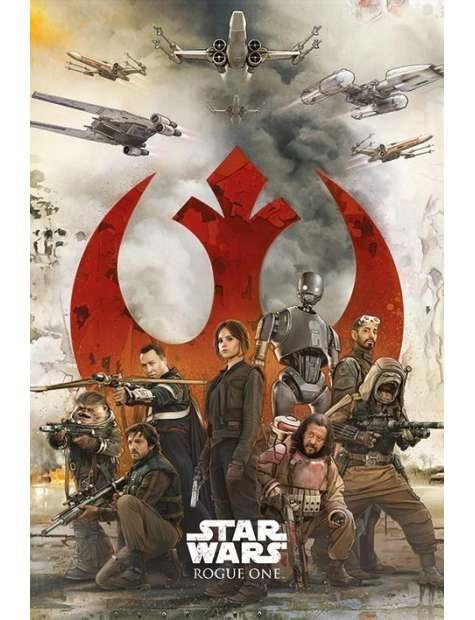 Łotr 1. Gwiezdne wojny Rebelianci - plakat