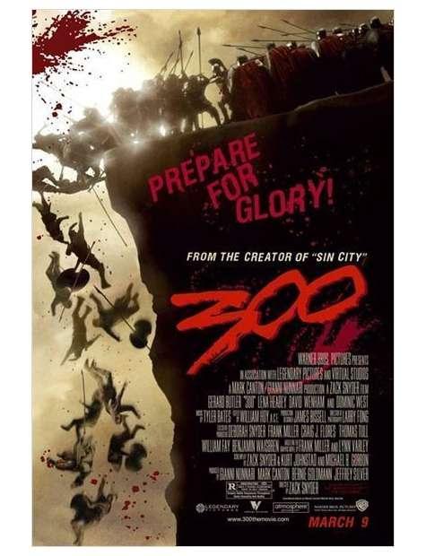 300 Prepare for Glory - plakat