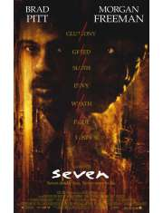 Siedem - Brad Pitt - plakat