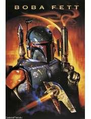Star Wars Gwiezdne Wojny Łowca Głów Boba Fett - plakat