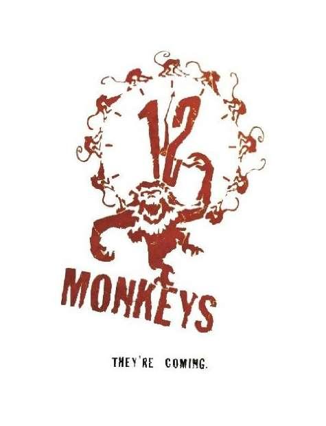 12 Małp - plakat