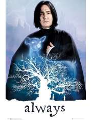 Harry Potter Snape Always - plakat