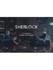 Sherlock Its not a Game Anymore - plakat