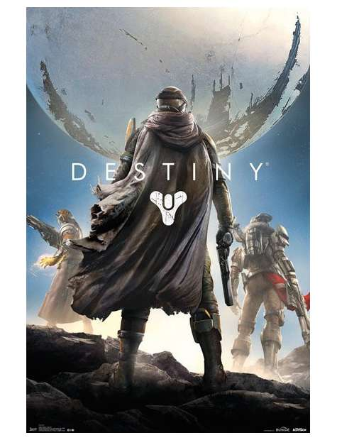 Destiny Key Art - plakat