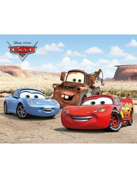 Auta Cars Najlepsi Przyjaciele - plakat