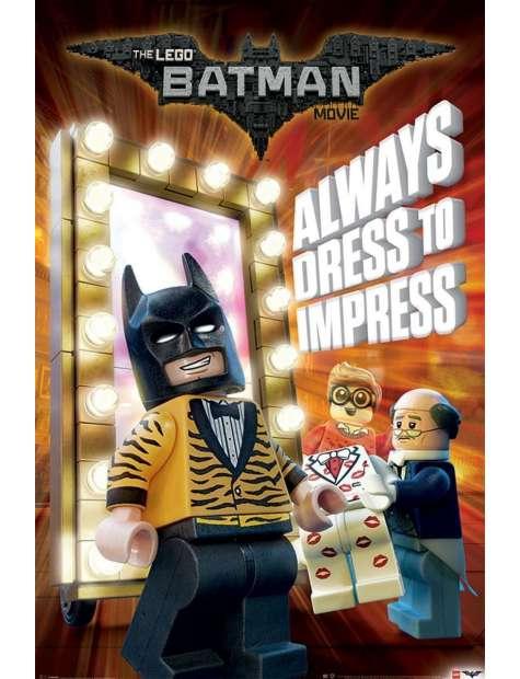 Lego Batman Always Dress To Impress - plakat