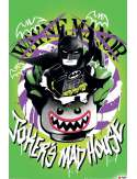 Lego Batman Joker's Madhouse - plakat