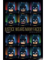 Lego Batman Justice Wears Many Faces - plakat