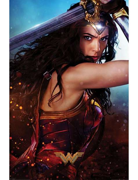 DC Comics Wonder Woman - plakat