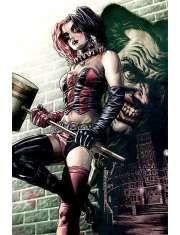 Batman Harley Quinn i Joker - plakat
