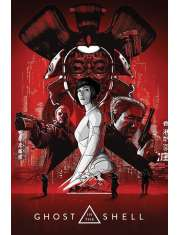 Ghost In The Shell Red - plakat