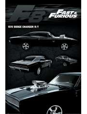 Szybcy i wściekli 8 Dodge Charger - plakat