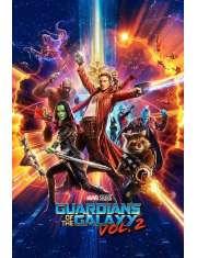 Strażnicy Galaktyki vol. 2 Bohaterowie - plakat