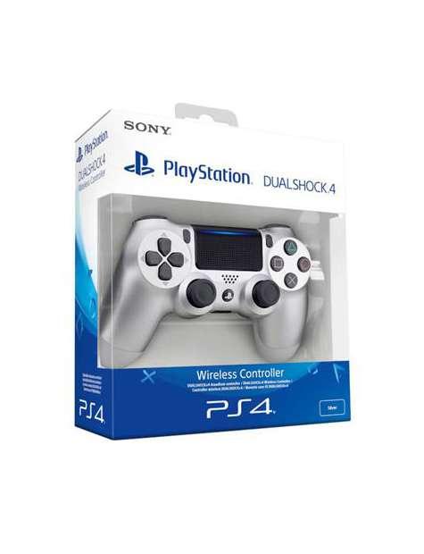Pad PS4 DualShock 4 Silver V2-22193