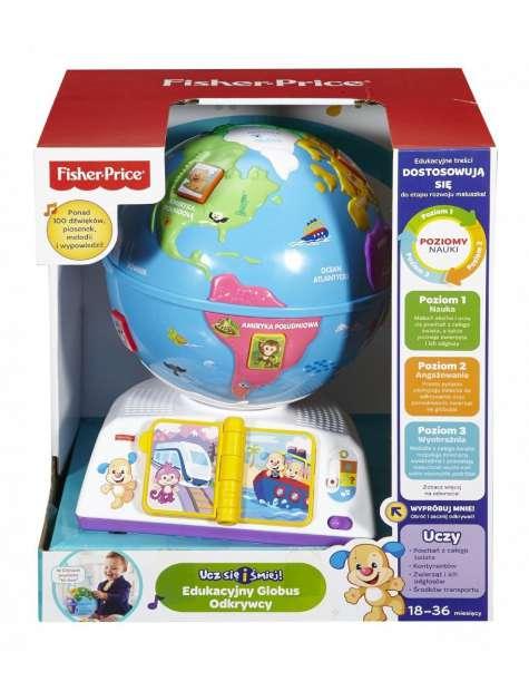 Fisher Price DRJ85 Edukacyjny Globus Odkrywcy-23161