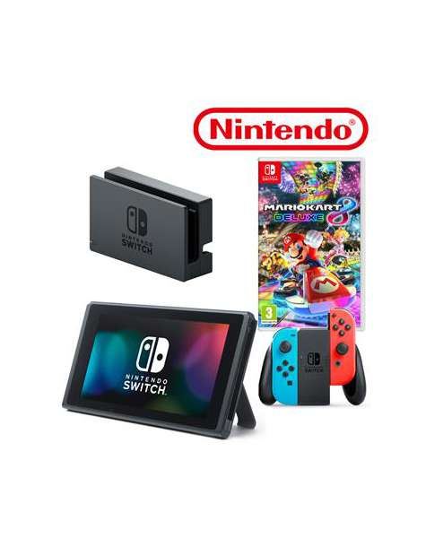Nintendo Switch Console Neon Red