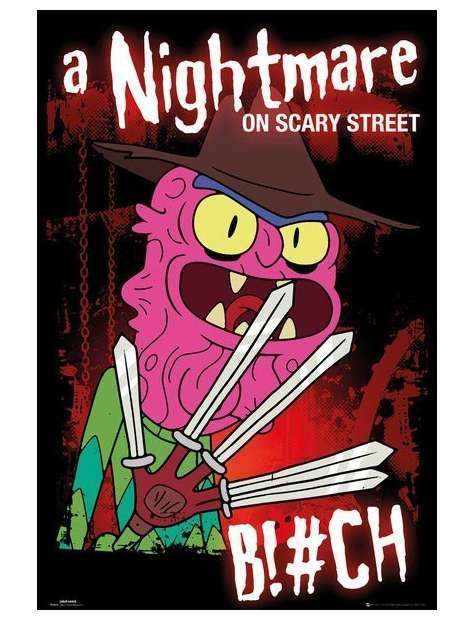 Rick and Morty Scary Terry - plakat