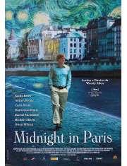 O północy w Paryżu - plakat