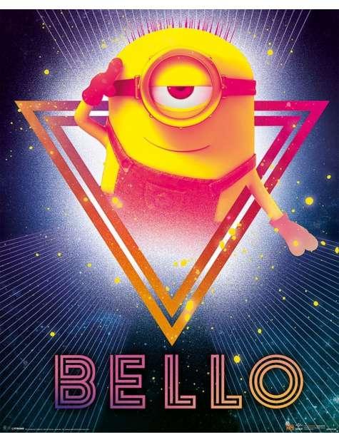 Gru, Dru i Minionki 80's Bello - plakat z filmu
