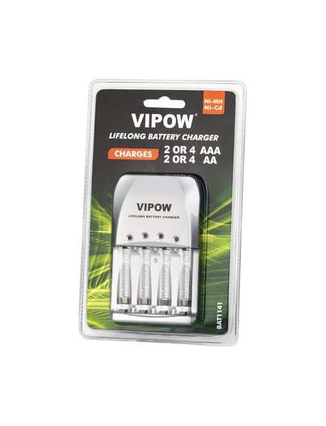Ładowarka do akumulatorków Vipow Lifelong PSC001-23928