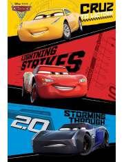 Auta - Cars 3 - plakat z filmu