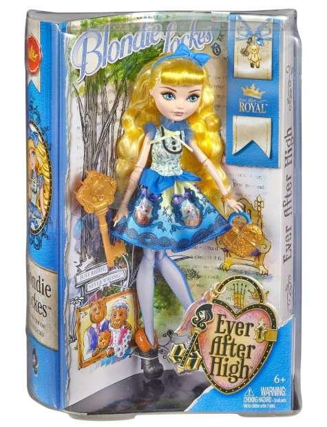 Lalka EAH Córka Złotowłosej CBR85-23485