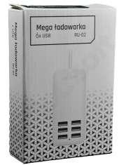 Combo Ładowarka 6 x USB RU-02-24278