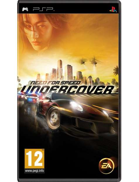 Need For Speed Undercover PSP-24430