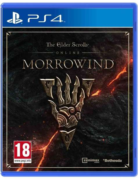 The Elder Scrolls Online Morrowind PS4-25318