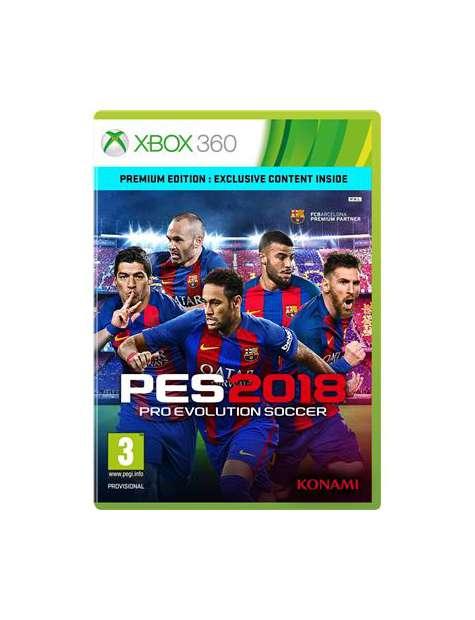 PES 2018 Premium Edition Xbox360-25358