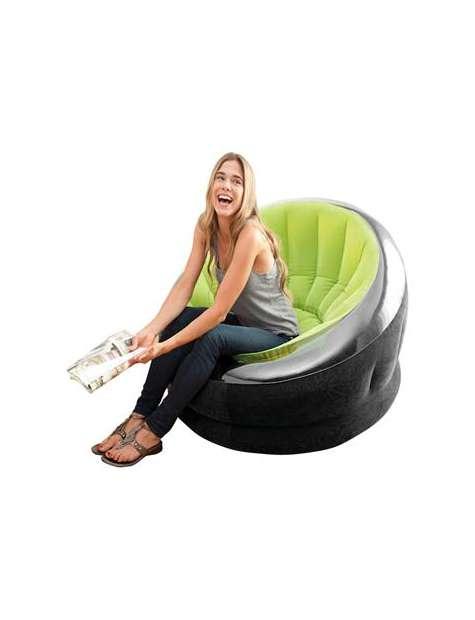 Fotel Dmuchany Intex zielony #68582-22791