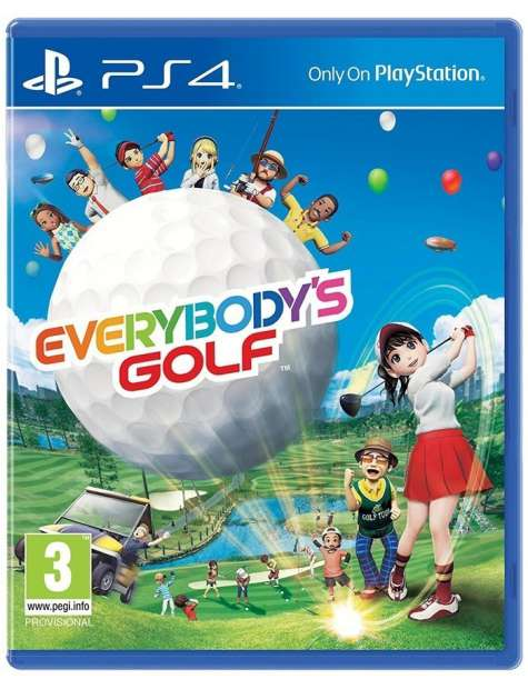 Everybody's Golf PS4-25877
