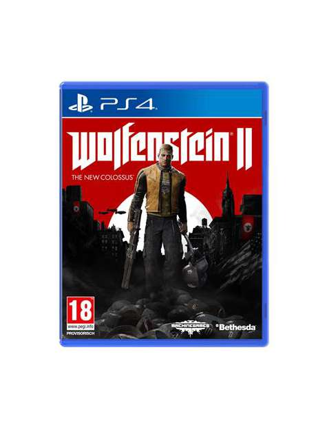 Wolfenstein II The New Colossus PS4-25943