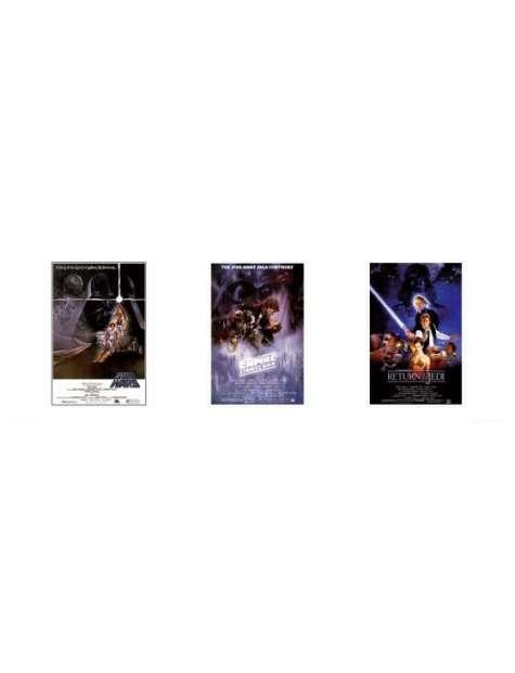 Gwiezdne Wojny Star Wars one sheets 2 - plakat premium