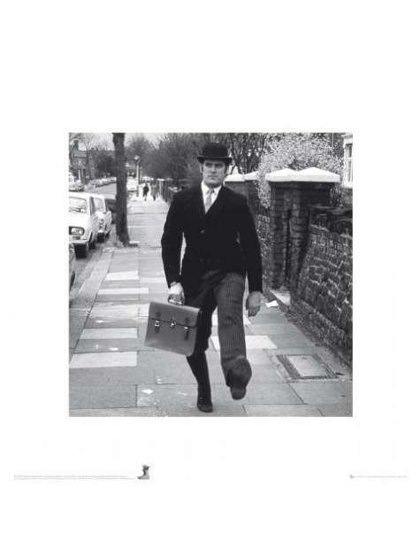 Monty Python silly walks - plakat premium