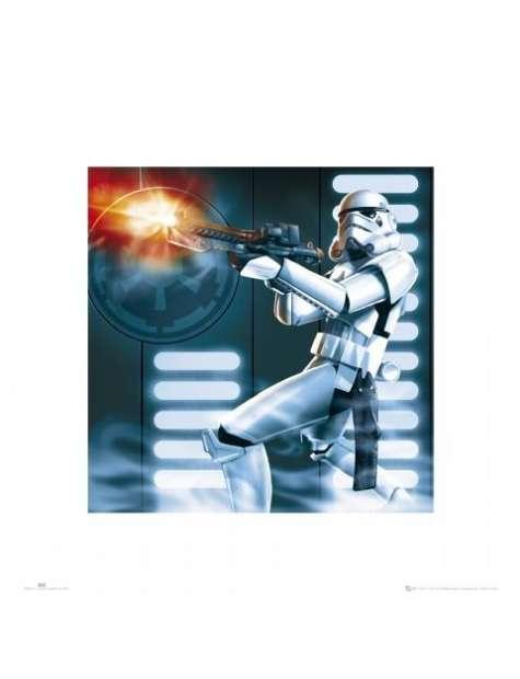 Gwiezdne Wojny Star Wars Szturmowiec - plakat premium