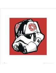 Gwiezdne Wojny Star Wars Hełm Szturmowca - plakat premium
