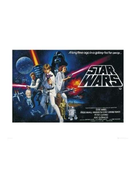 Gwiezdne Wojny Star Wars - plakat premium